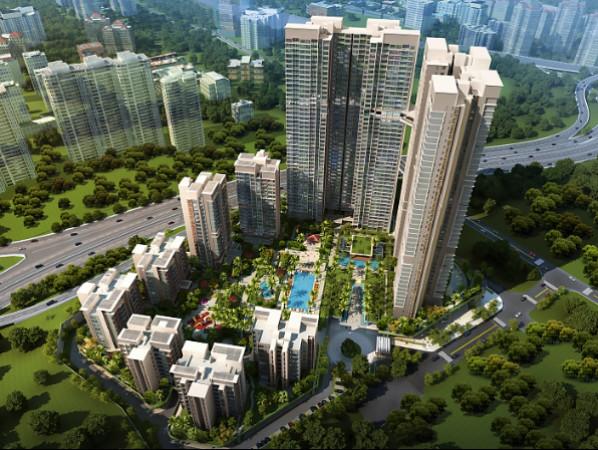 马来西亚高级住宅区雅居乐・满家乐优质学区房――高尚区,Tower H&I,D户型,3+1卧室双钥匙,双阳台,超大空间豪华装修,6%-8%高回报率#4